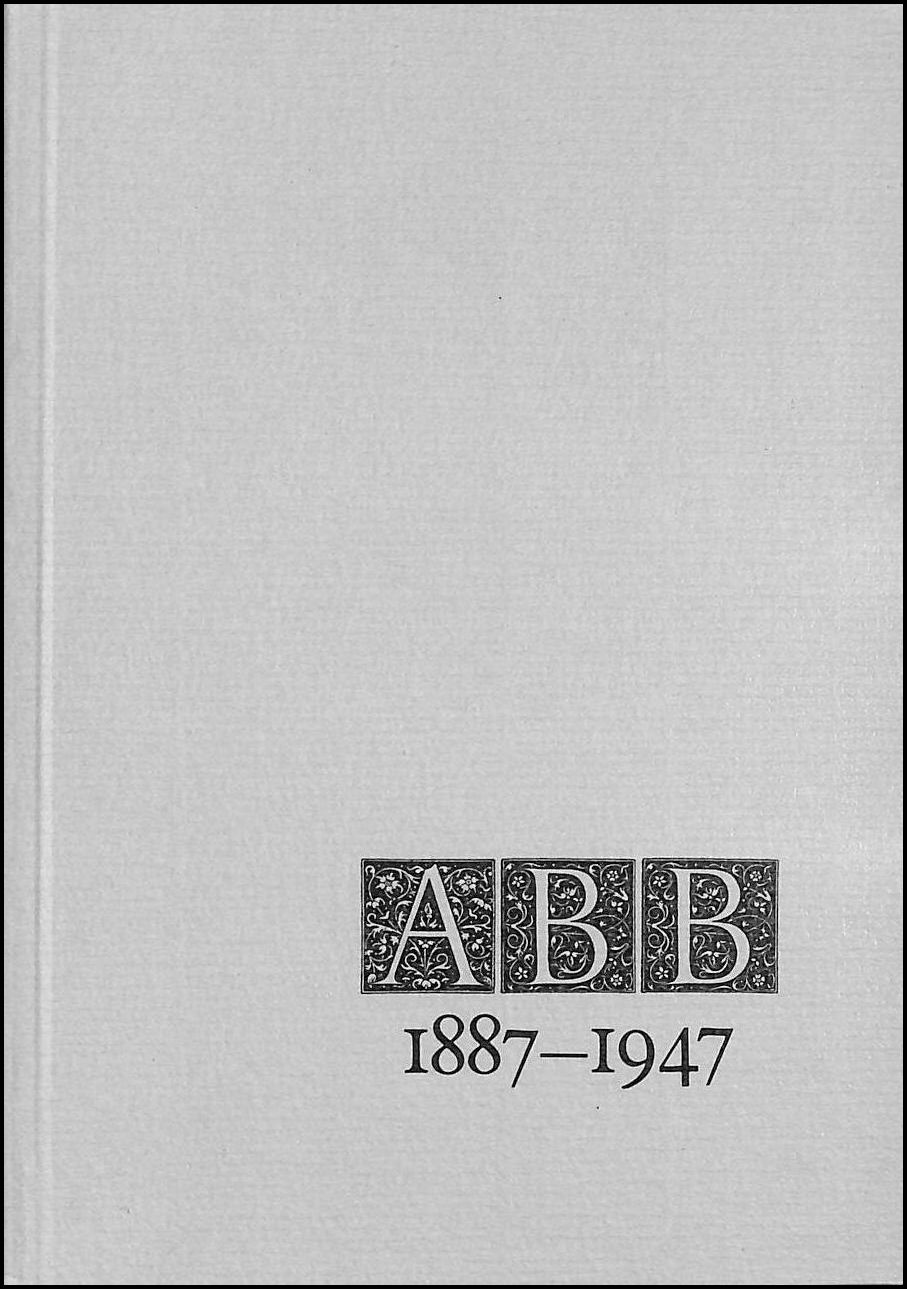 Image for ABB [A. Barratt Brown] 1887-1947