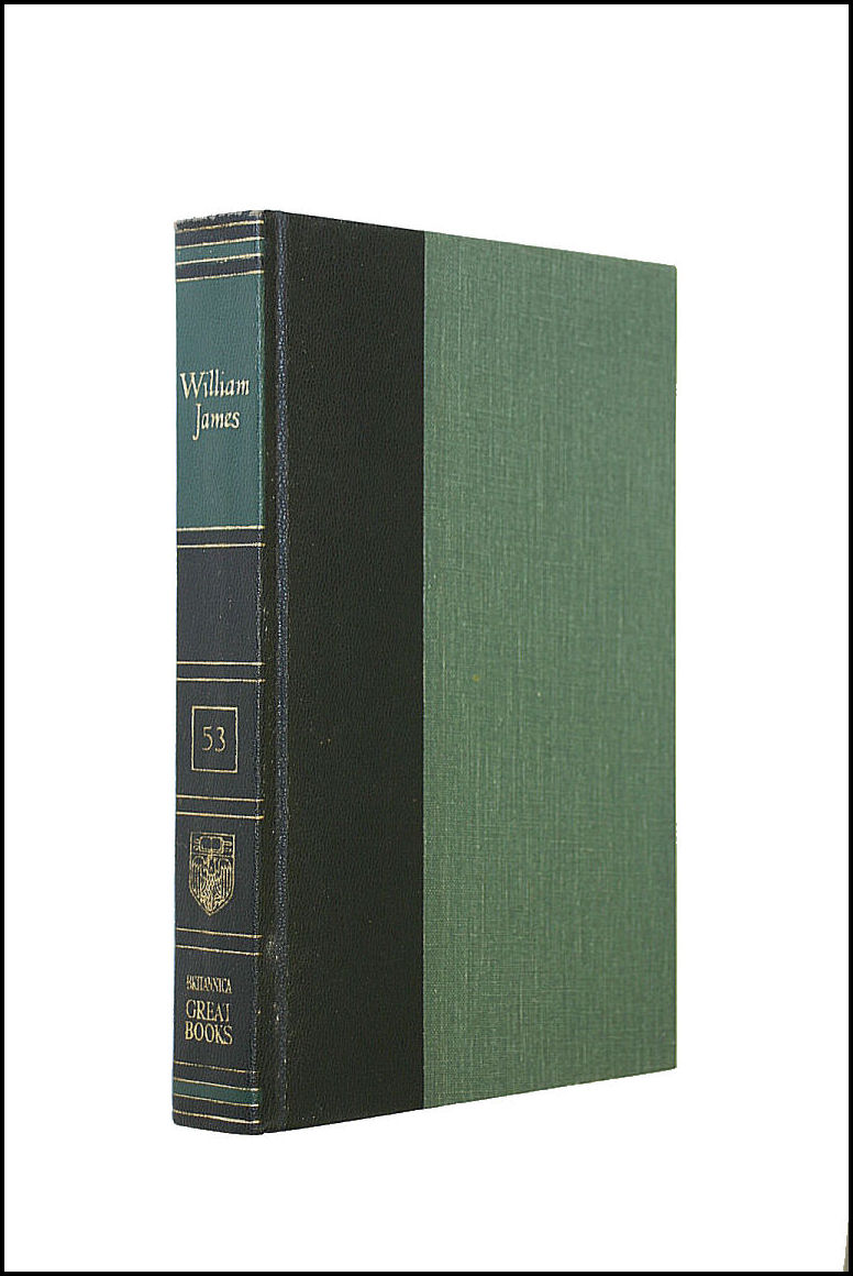 Great Books Of The Western World William James The Principles Of Psychology, Britannica [Editor]