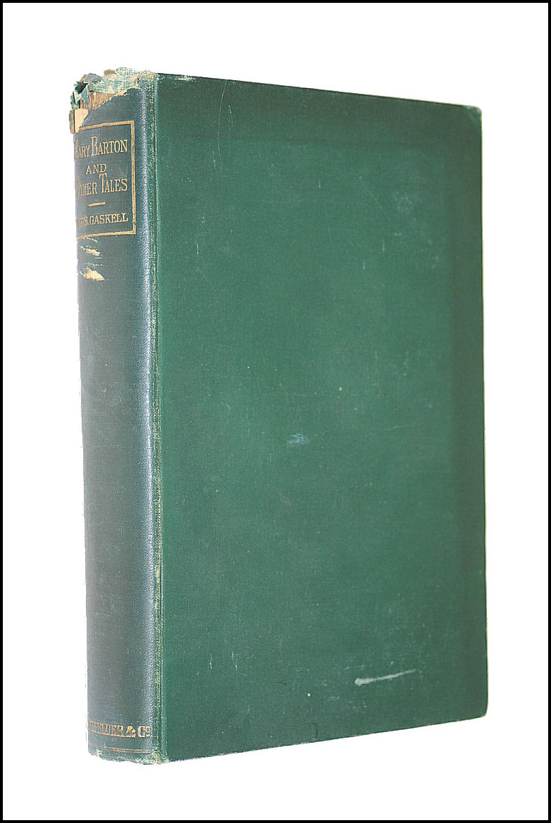Mary Barton And Other Tales, Gaskell, Mrs Elizabeth C