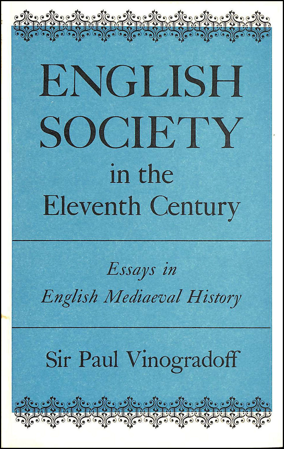 Image for English Society in the Eleventh Century