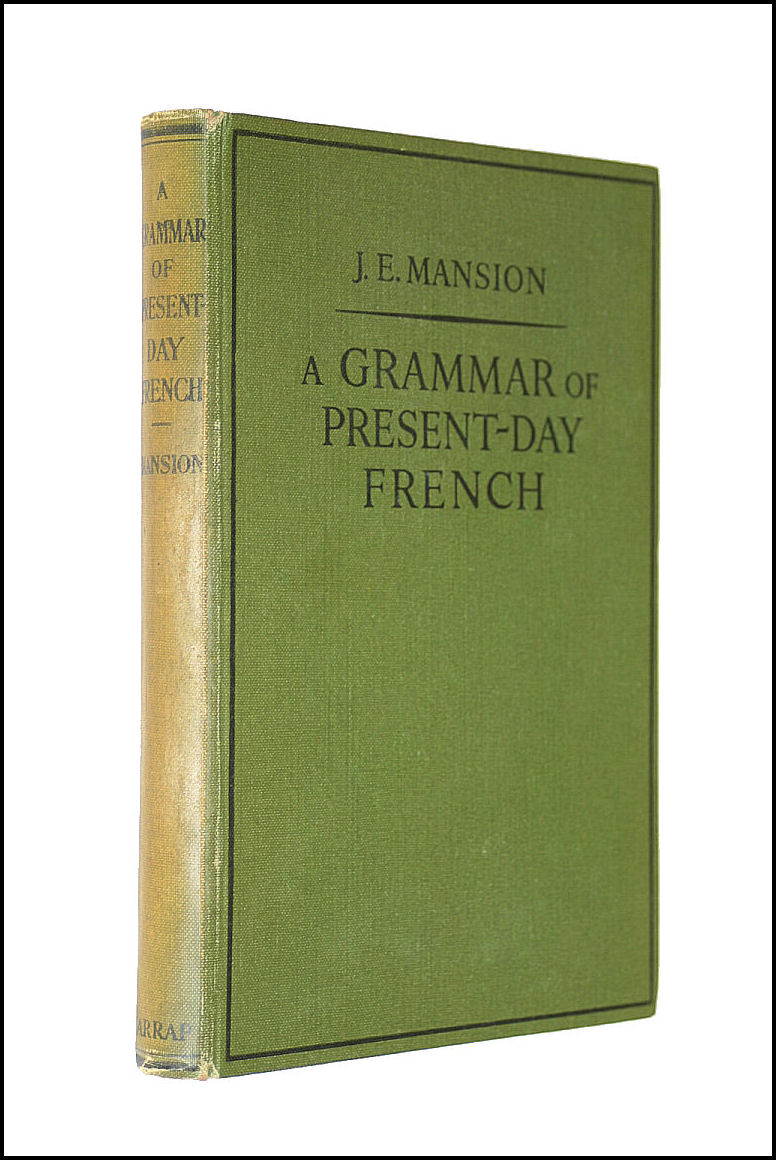 Image for Grammar of Present Day French