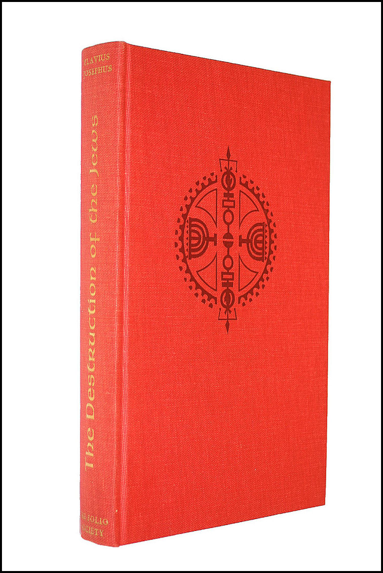 The Destruction Of The Jews, Translated And With An Introduction By C. A. Williamson, Wood Engravings, Josephus, Flavius,