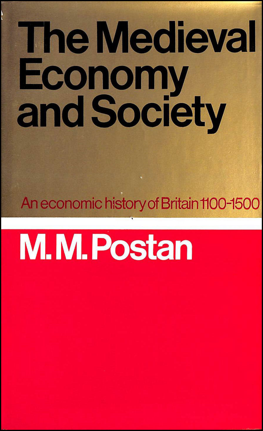 Image for Medieval Economy and Society: Economic History of Britain, 1100-1500
