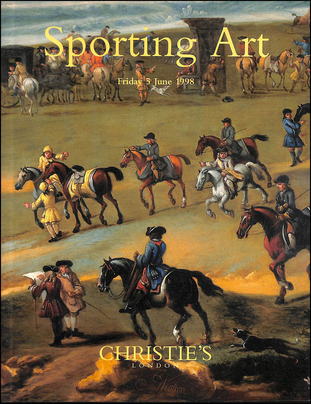 Image for Christie's London, Sporting Art, Friday 5th June