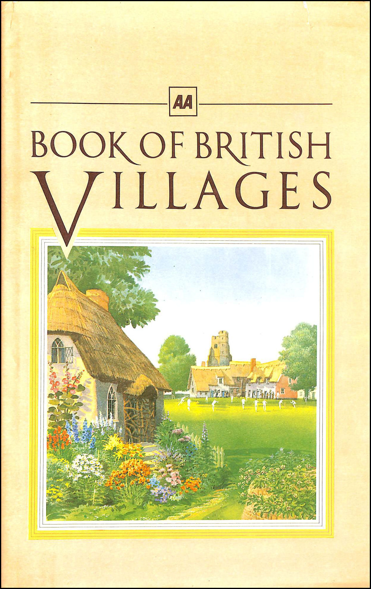 Image for AA Book of British Villages