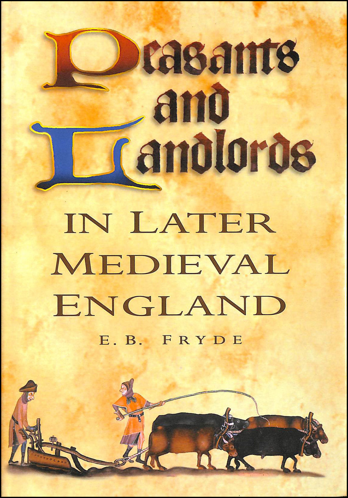 Image for Peasants and Landlords in Later Medieval England (History)