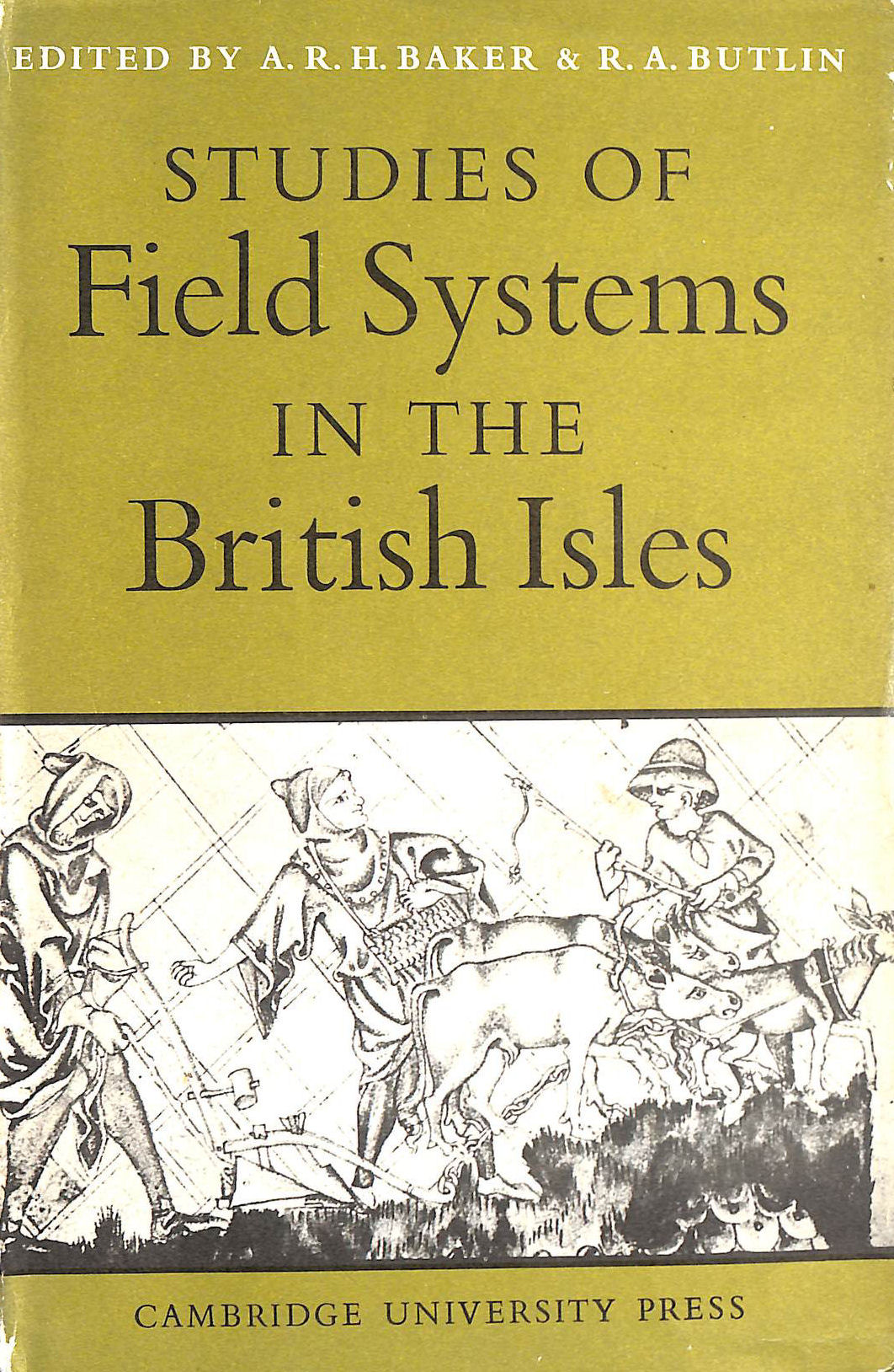 Studies of Field Systems in the British Isles, Baker, Alan R. H. [Editor]; Butlin, Robin A. [Editor];