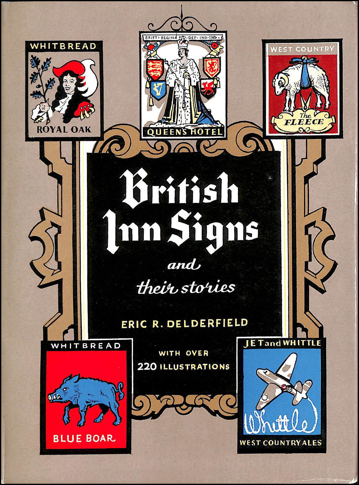 British inn signs and their stories, Delderfield, Eric R