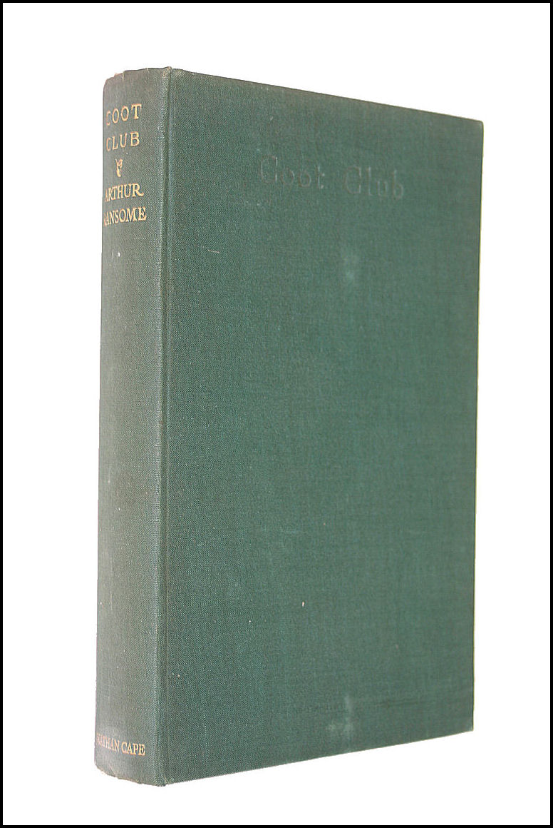 Coot Club, Arthur Ransome