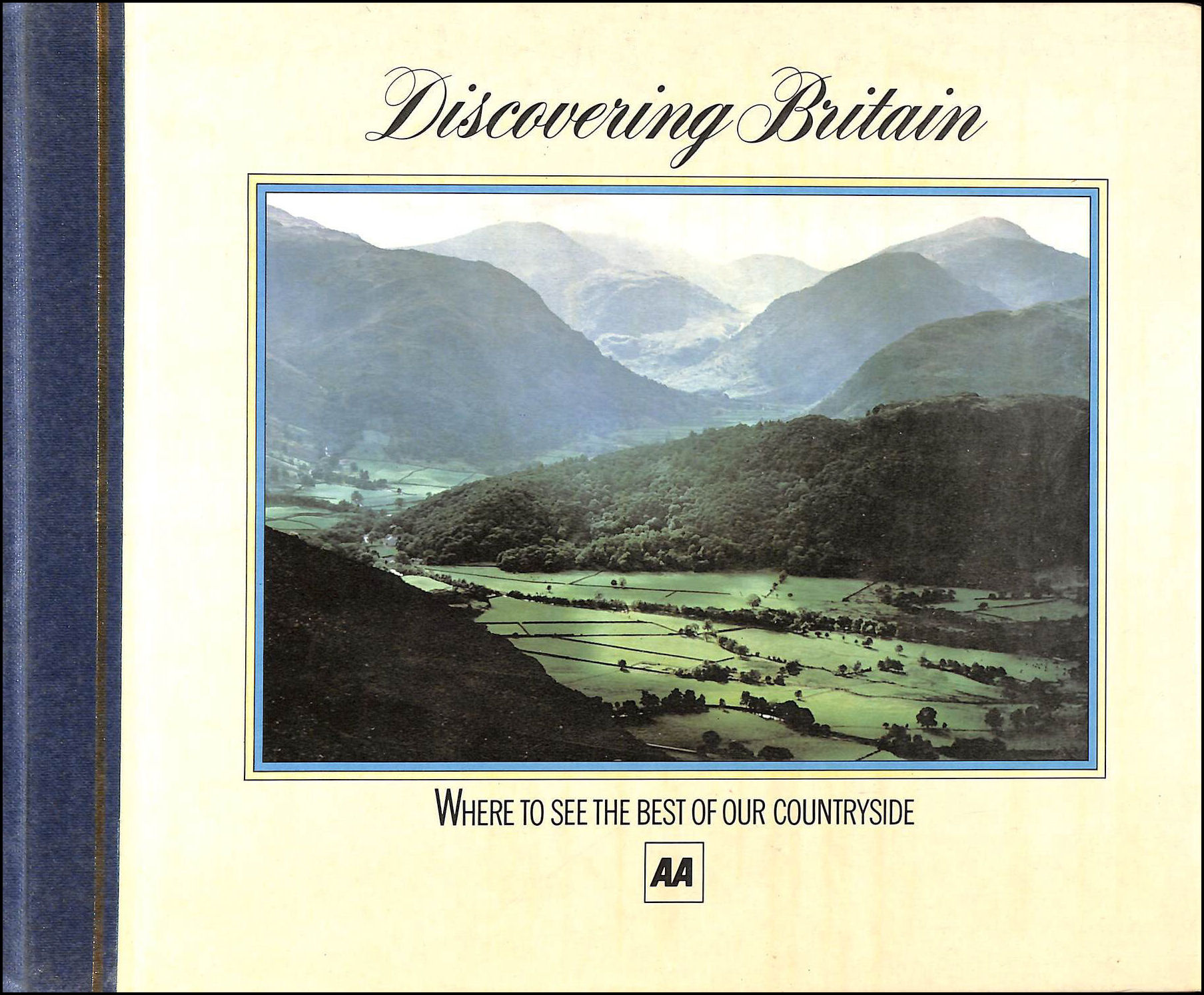 Image for AA Discovering Britain, Where to See the Best of our Countryside