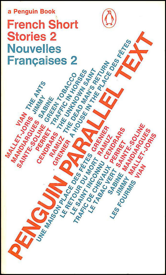 French short stories: Nouvelles Francaises: Volume 2 (Penguin Parallel Text Series): v. 2, Authors, Various; Lee, Simon [Editor]