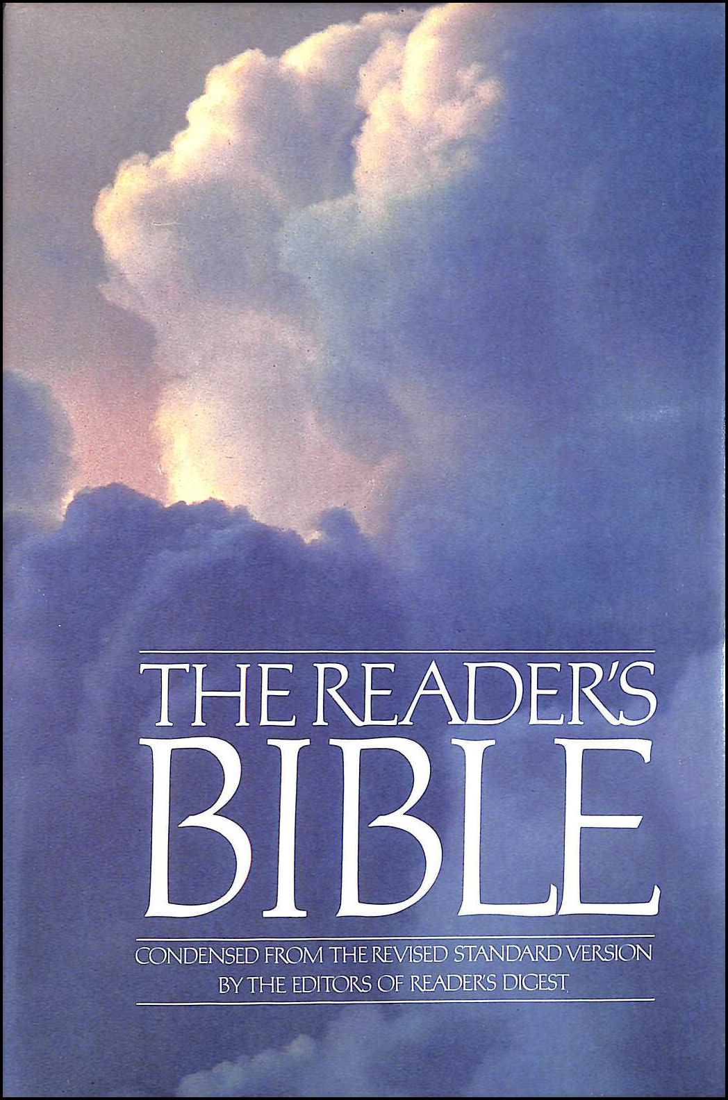 The Reader's Bible, Metzger, Bruce M. [Editor]