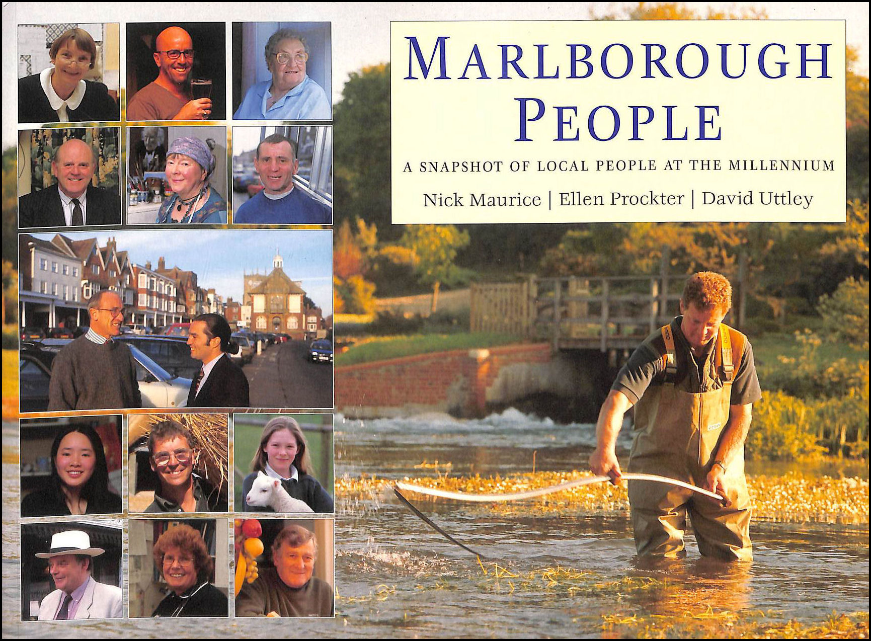 Image for Marlborough people: A snapshot of local people at the millennium