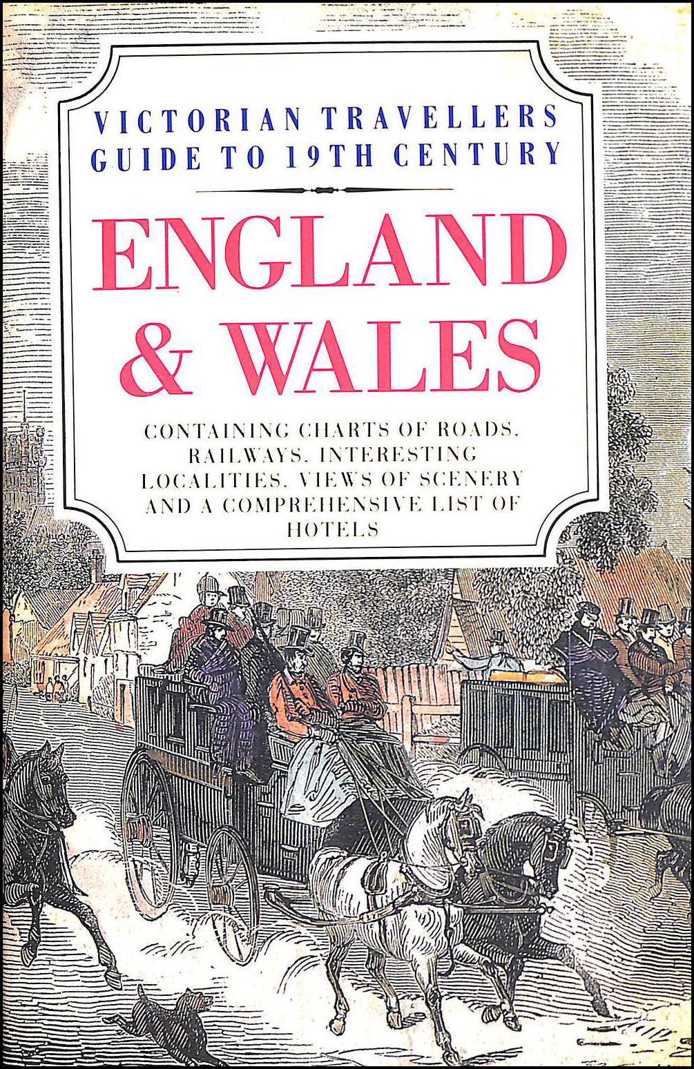 Image for Victorian Traveller's Guide to Nineteenth Century England and Wales