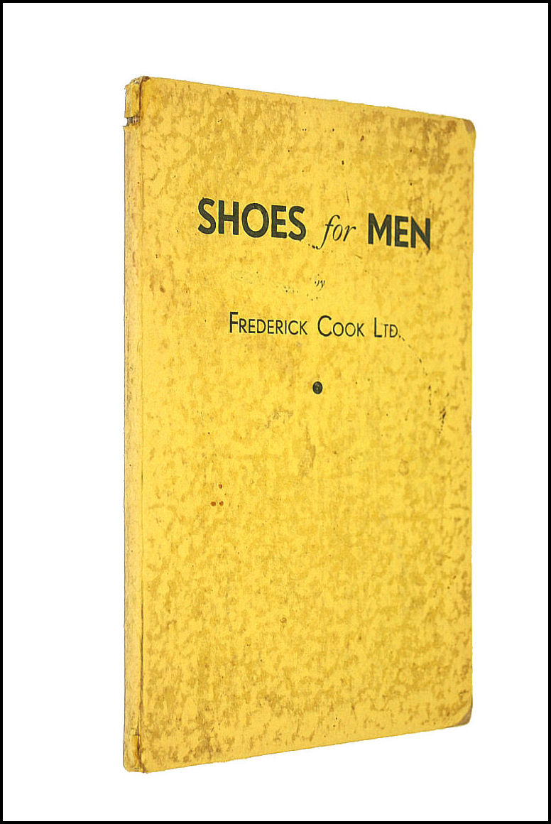 Shoes for Men, Frederick Cook; Frederick Cook [Contributor]
