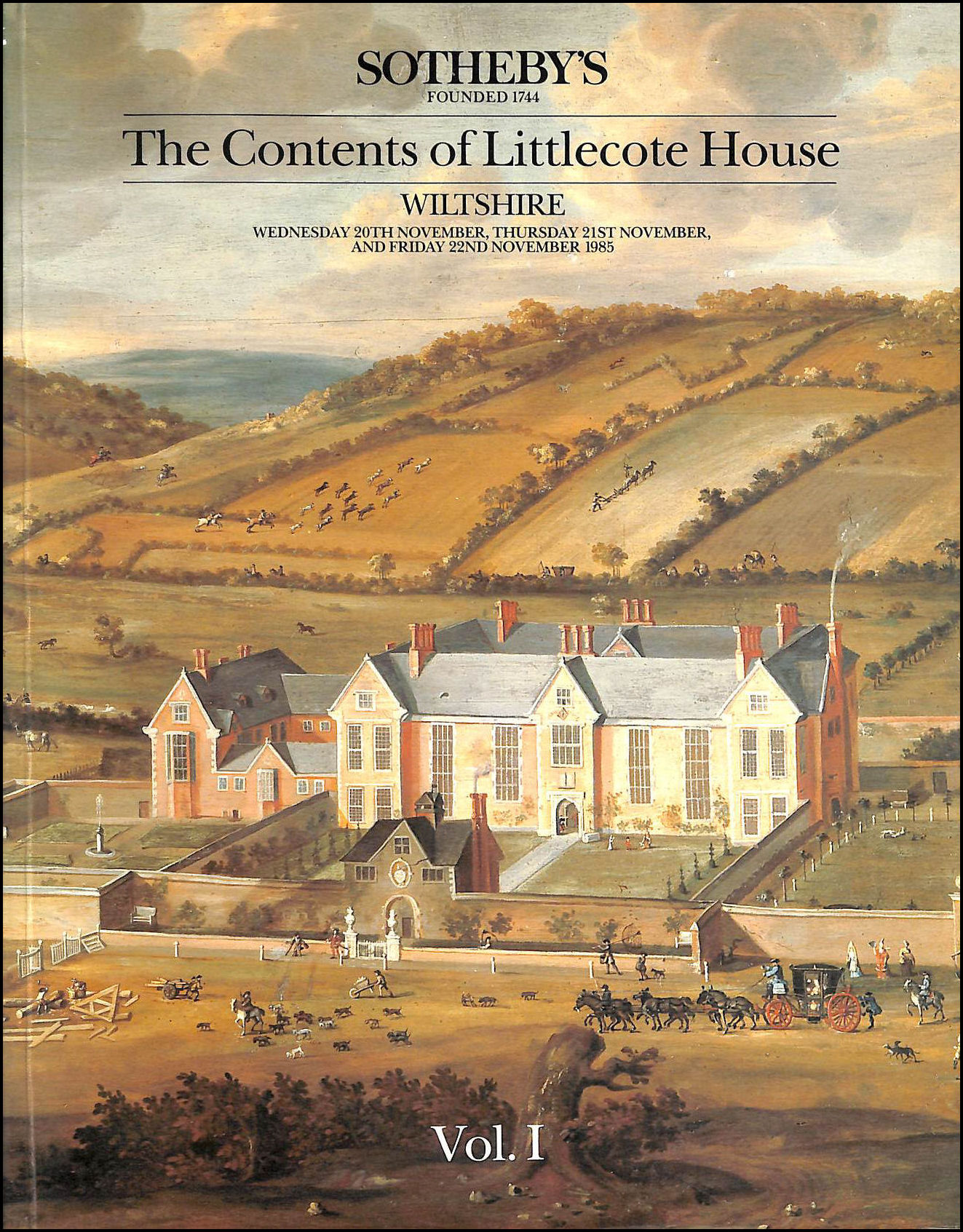 The Contents of Littlecote House, Wiltshire, Vol. I, Various
