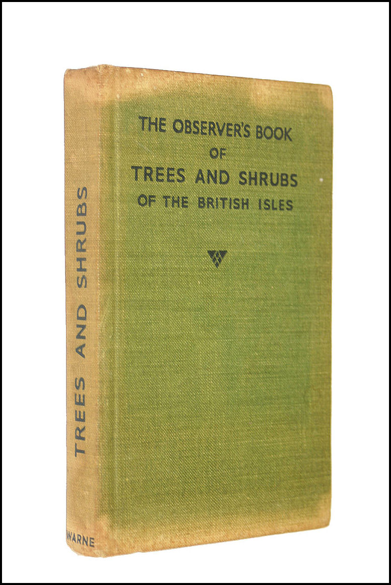 The Observer's Book Of Trees And Shrubs Of The British Isles., Stokoe W J