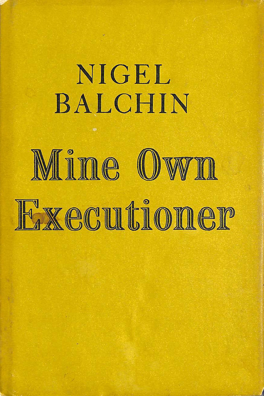 Image for Mine Own Executioner