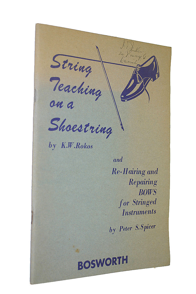 Image for String teaching on a shoestring