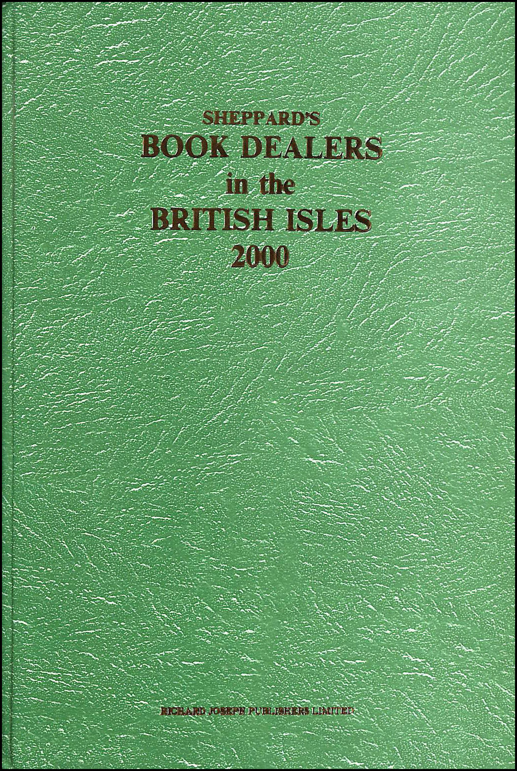 Image for Sheppard's Book Dealers in British Isles: 2000