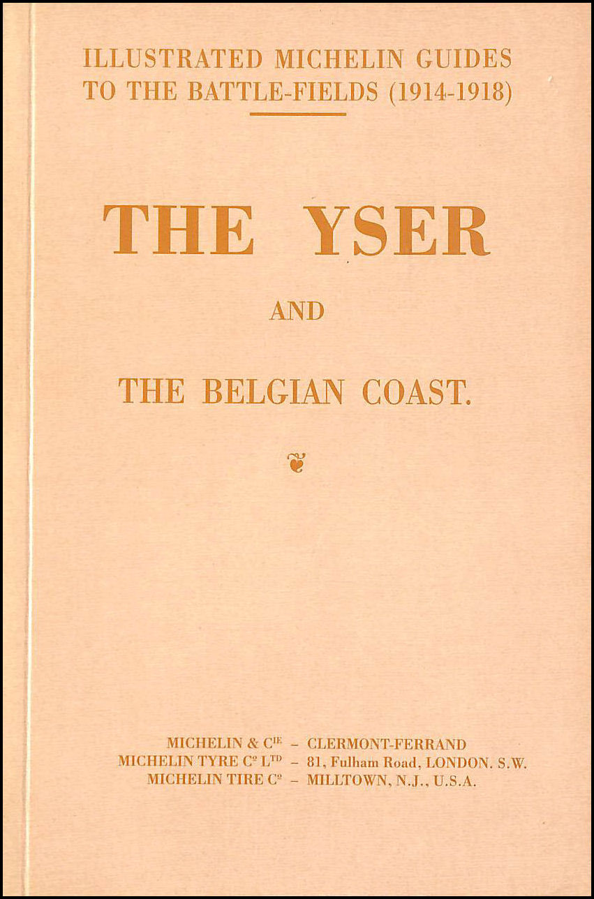 Image for Yser & the Belgian Coast (Illustrated Michelin Guides)