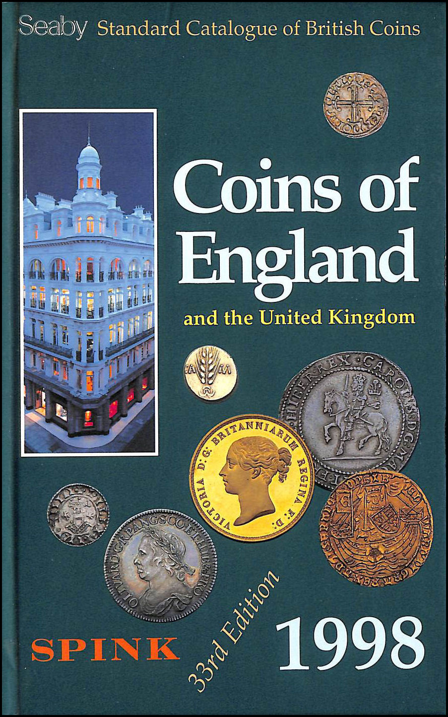 Image for Seaby Standard Catalogue of British Coins 1998: Coins of England and the United Kingdom