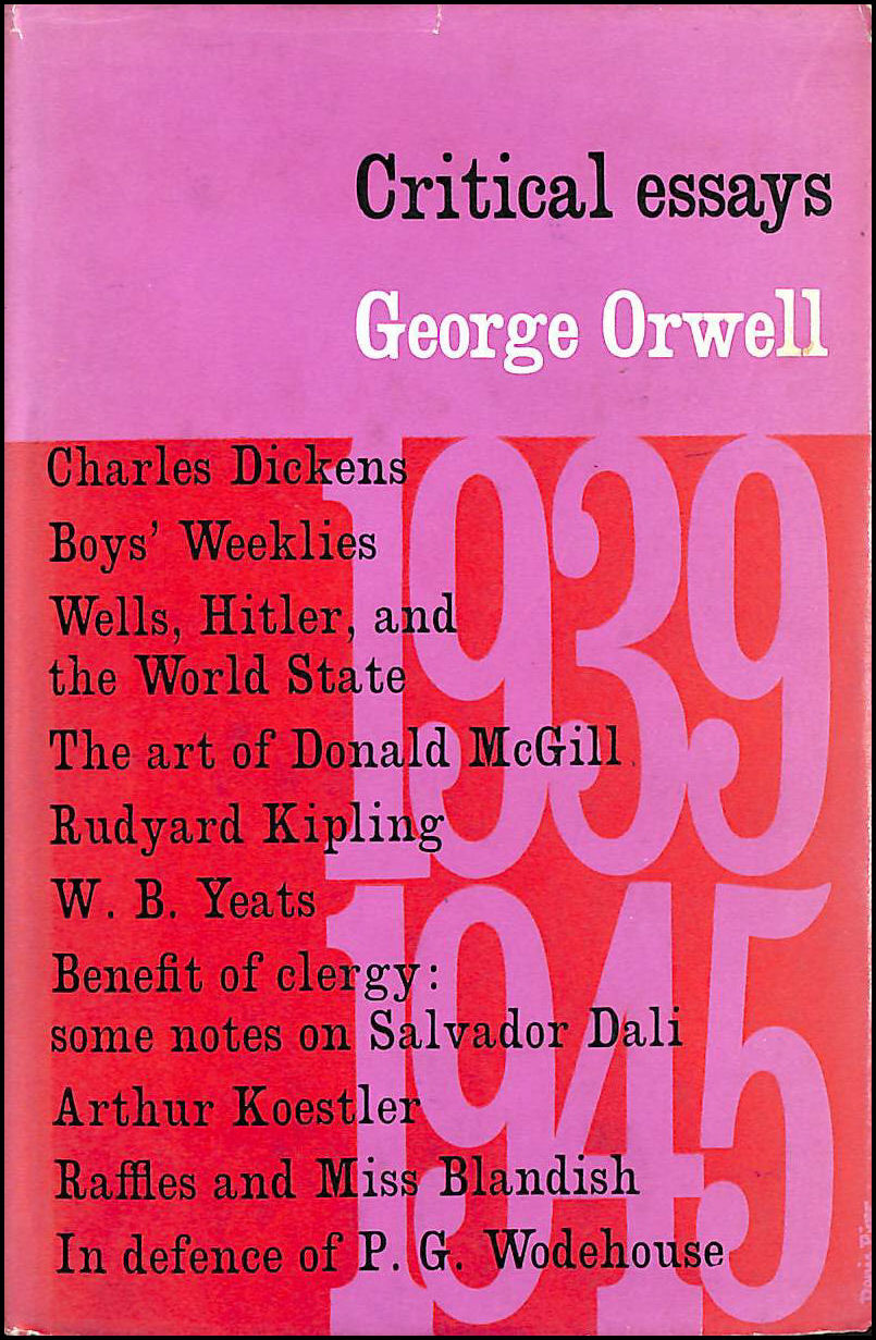 Critical Essay On George Orwell