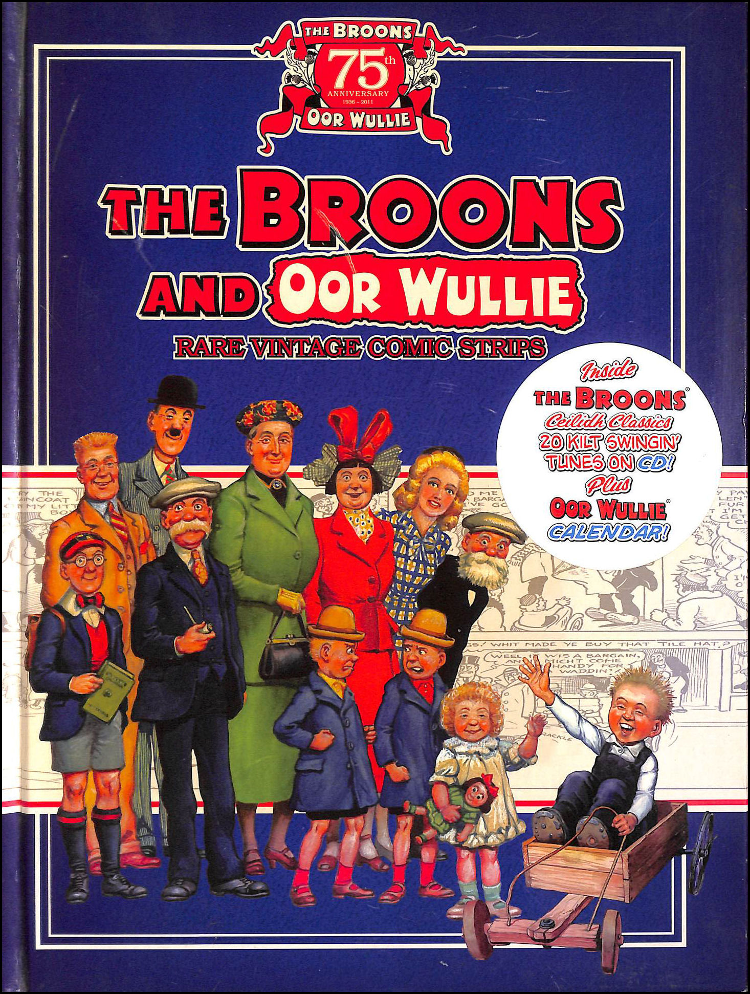 Image for Broons and Oor Wullie Rare Vintage Comic Strips (Gift Book)