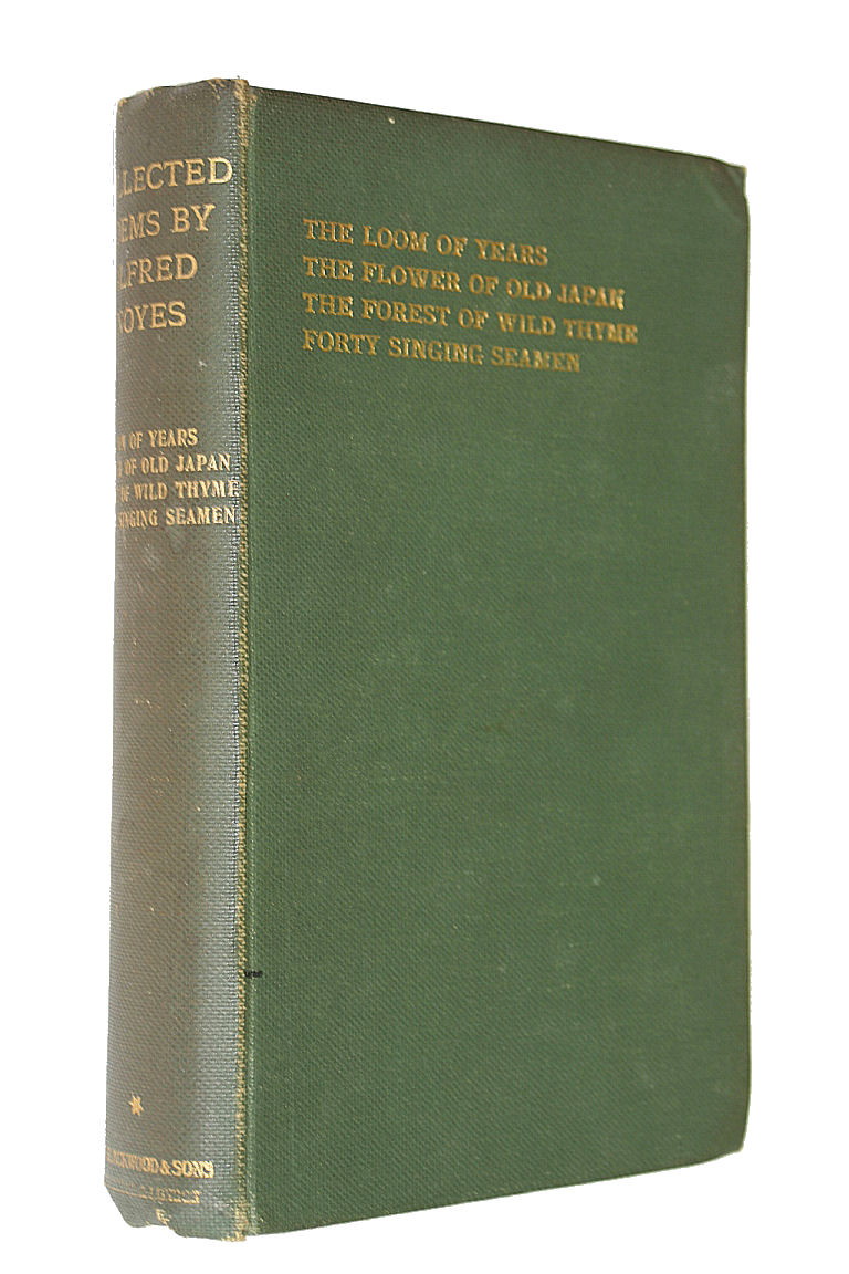 Collected Poems Volume 1, Noyes, Alfred