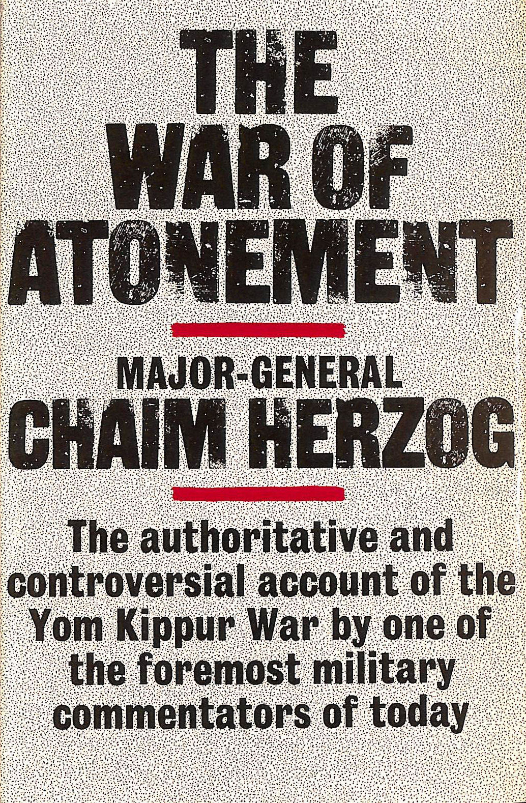 The War of Atonement, Herzog, Chaim