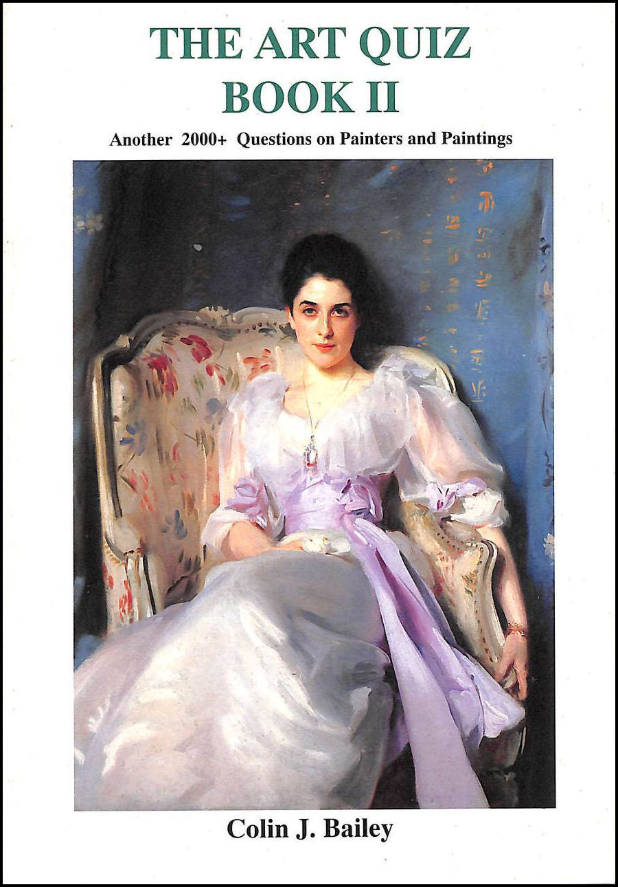 Image for Art Quiz Book II: 2000+ Questions on Painters and Paintings