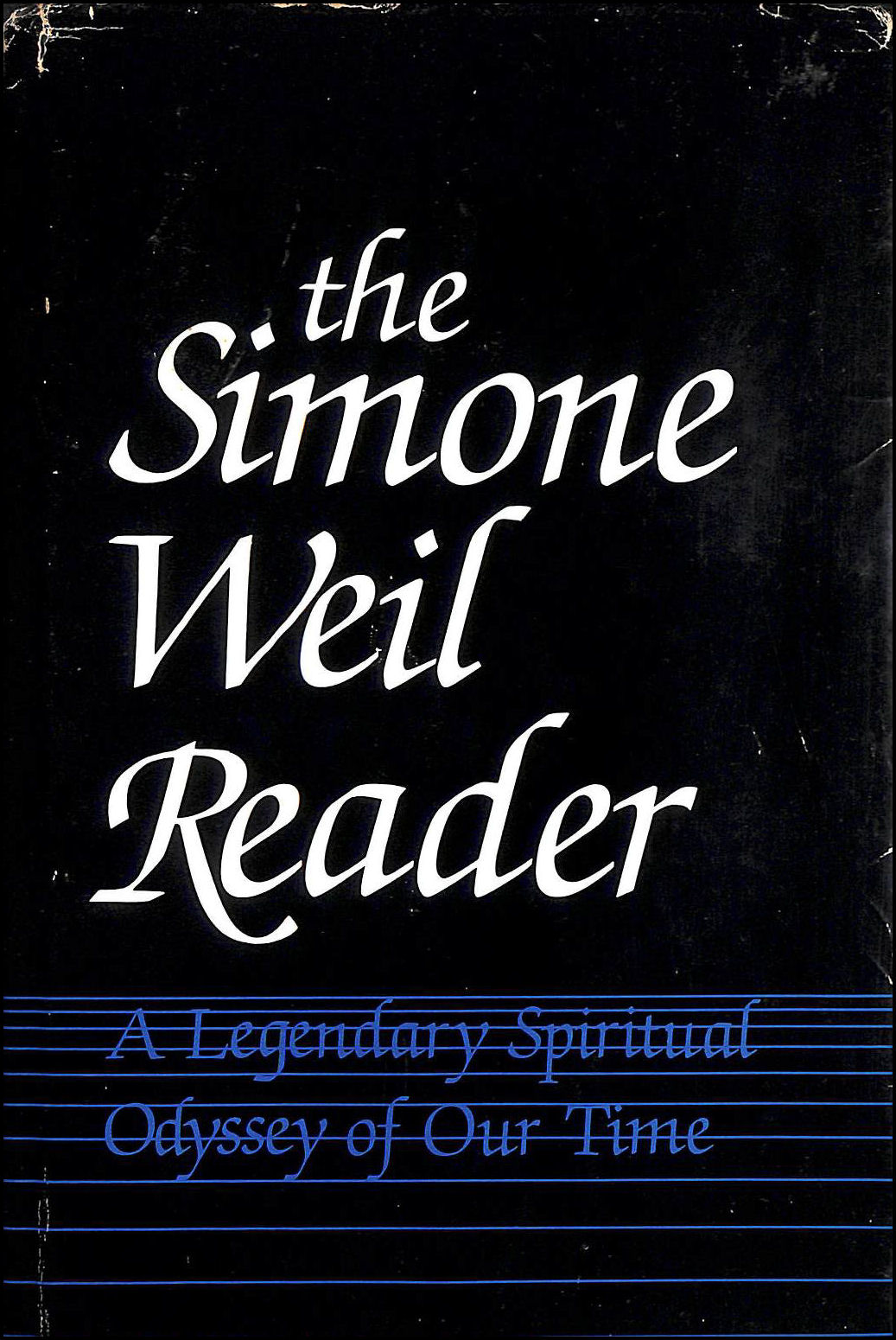 Image for The Simone Weil reader