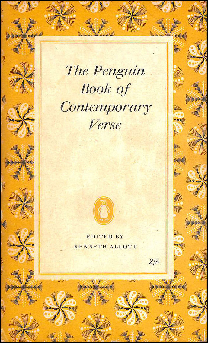 The Penguin Book Of Contemporary Verse, Allott, Kenneth. (Selected by).