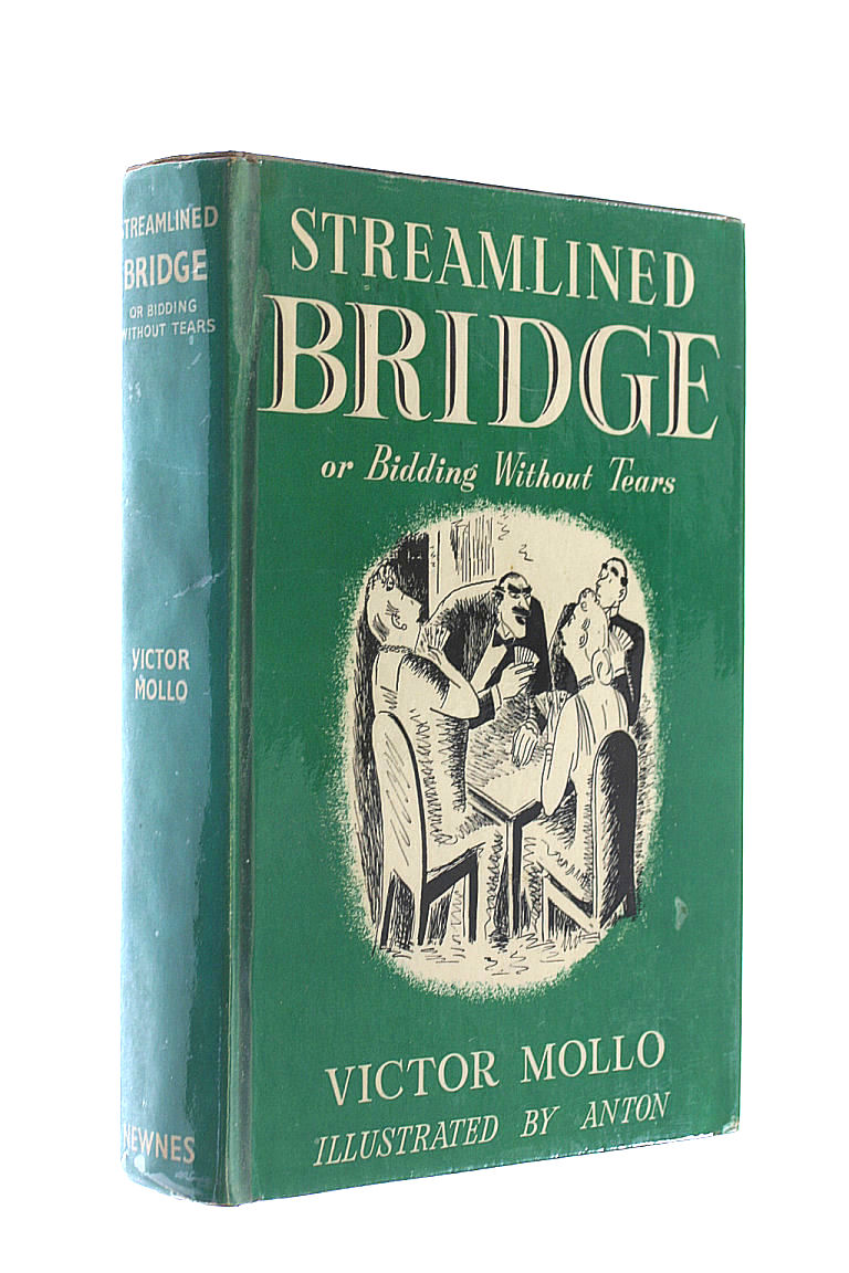Streamlined bridge, or, Bidding without tears, Mollo, Victor