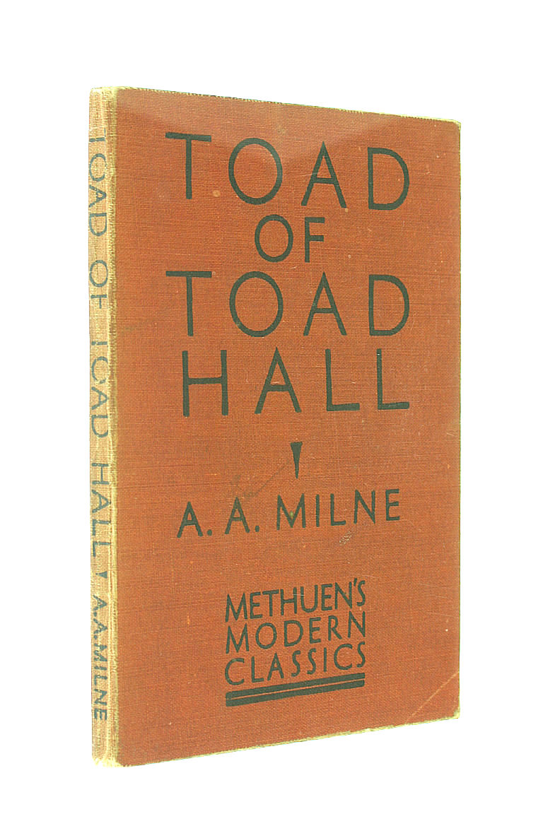 Toad of Toad Hall, A. A. Milne