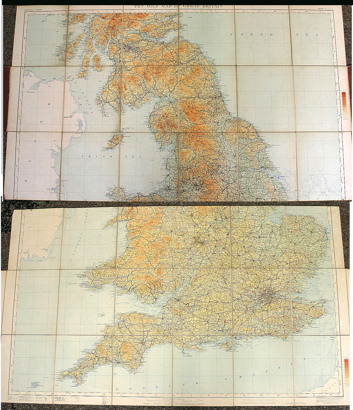 Image for Ten Mile Map of Great Britain, Sheet Two
