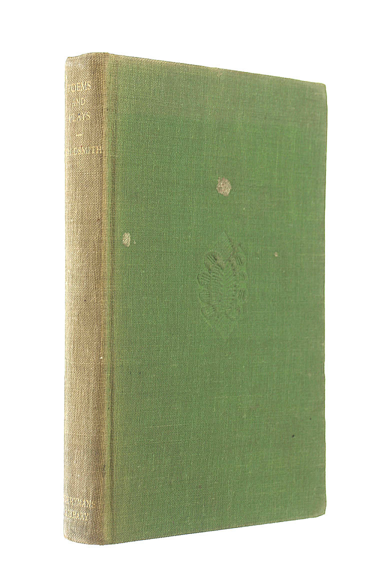 Poems & Plays, Goldsmith