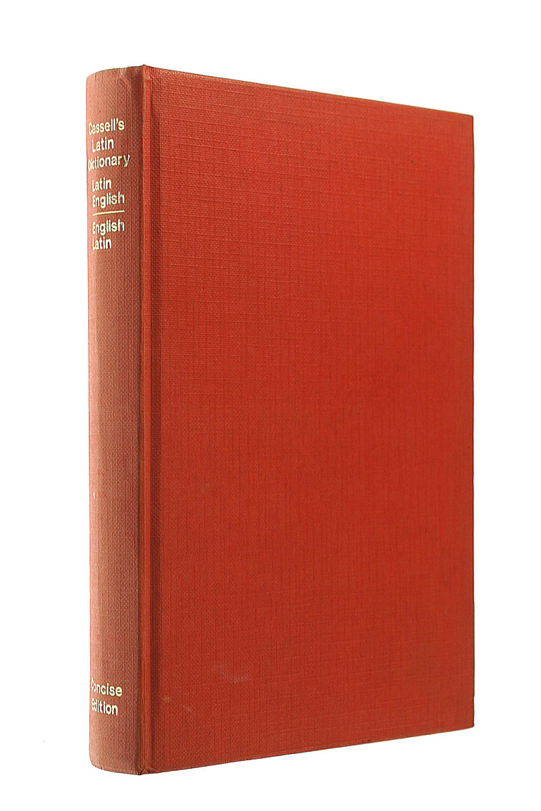Cassell's Concise Latin-English, English-Latin Dictionary, Simpson, D.P. [Editor]