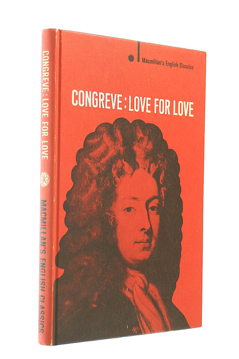 Image for Love for love,  Edited with an introduction and notes by A. Norman Jeffares (English classics. New series.)