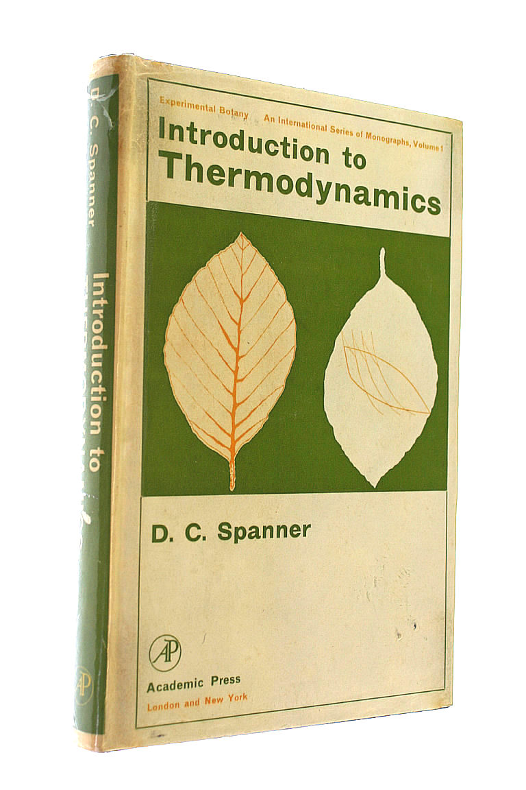 Introduction to Thermodynamics, Spanner, D.C.