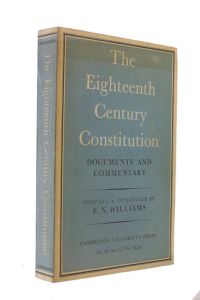 Image for The Eighteenth Century Constitution.