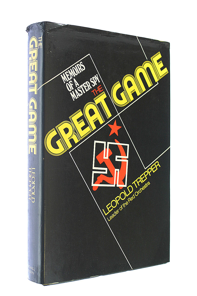 Image for The Great Game - Memoirs of a Master Spy - Leopold Trepper - Leader of the Red Orchestra