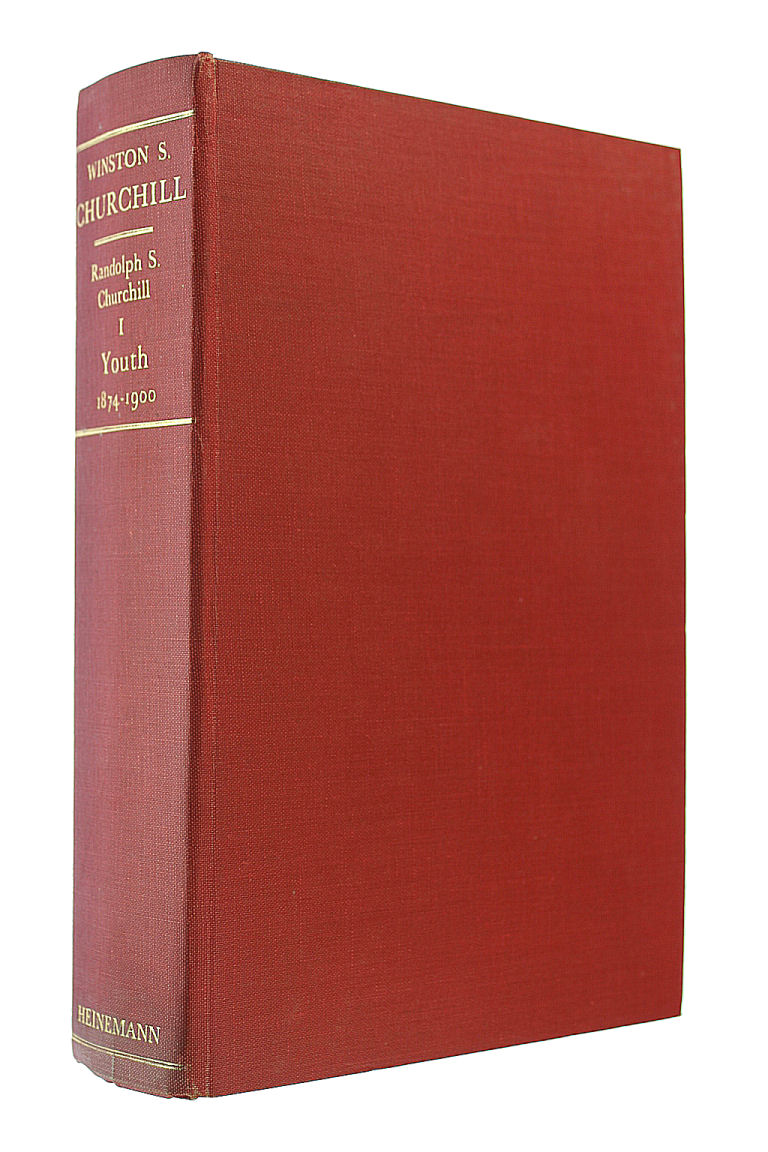 Image for Winston S. Churchill, Volume One, Youth 1874-1900