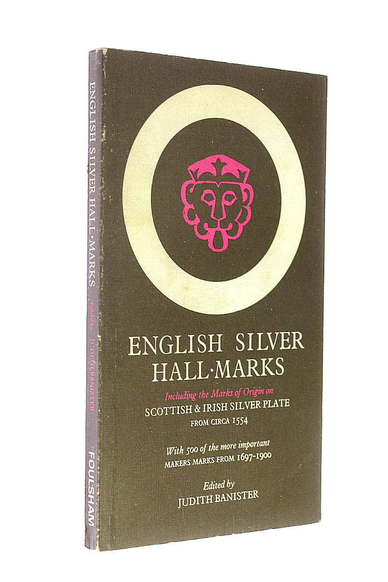 Image for English Silver Hallmarks, Including Scottish and Irish Marks