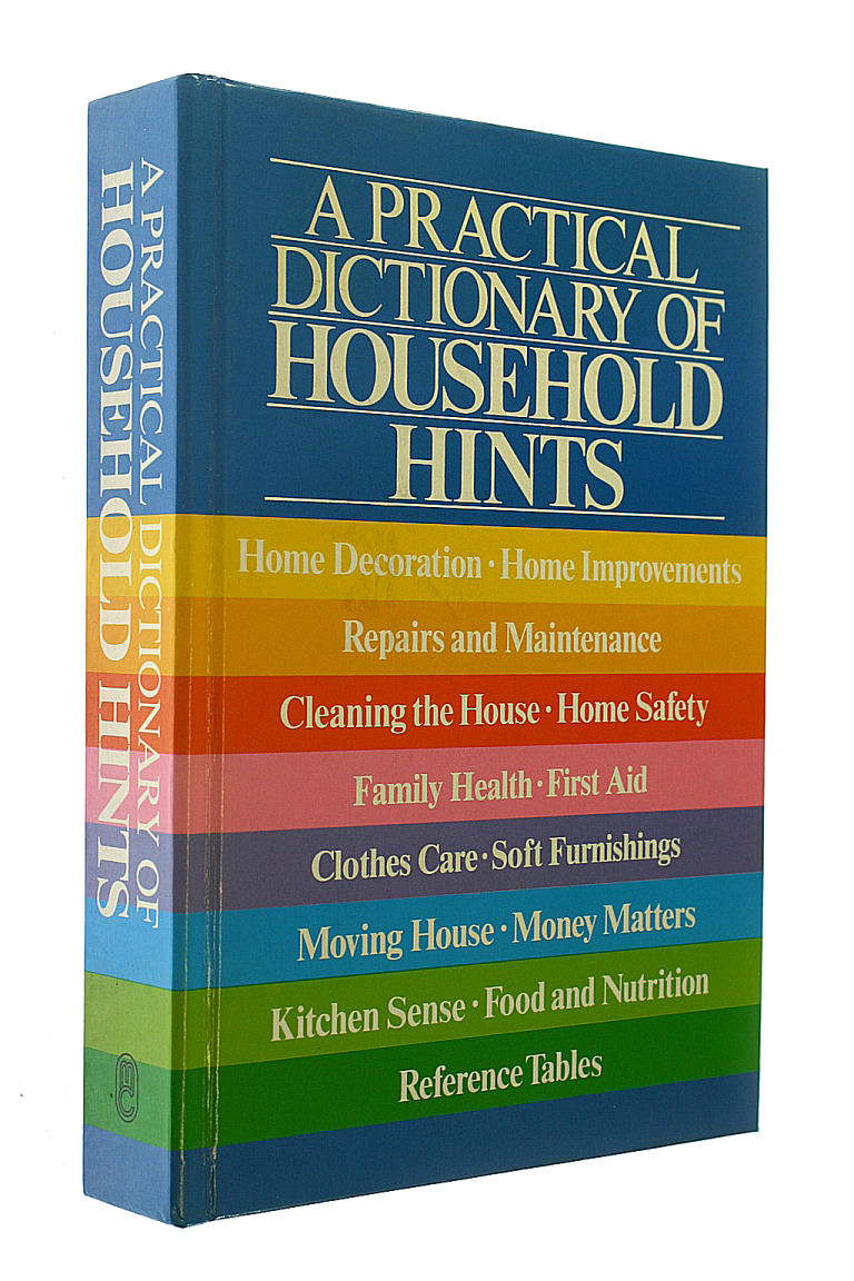 Image for A Practical Dictionary of Household Hints