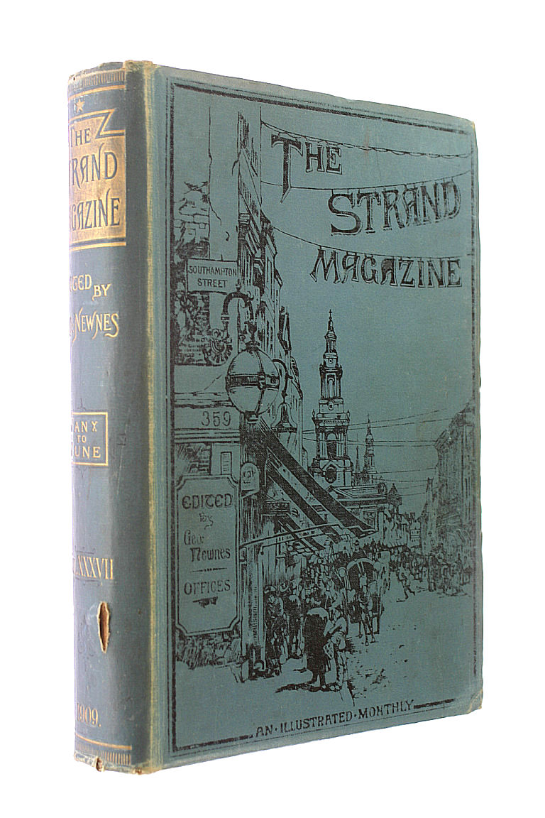 Image for The Strand Magazine: an illustrated monthly, vol.XXXVII (37), January to June (1909)