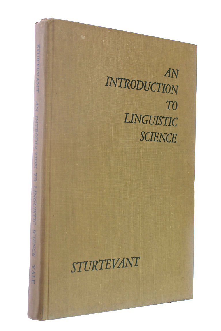 Image for Introduction to Linguistic Science
