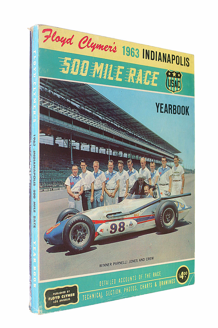 Floyd Clymer's 1963 Indianapolis 500 Mile Race Yearbook
