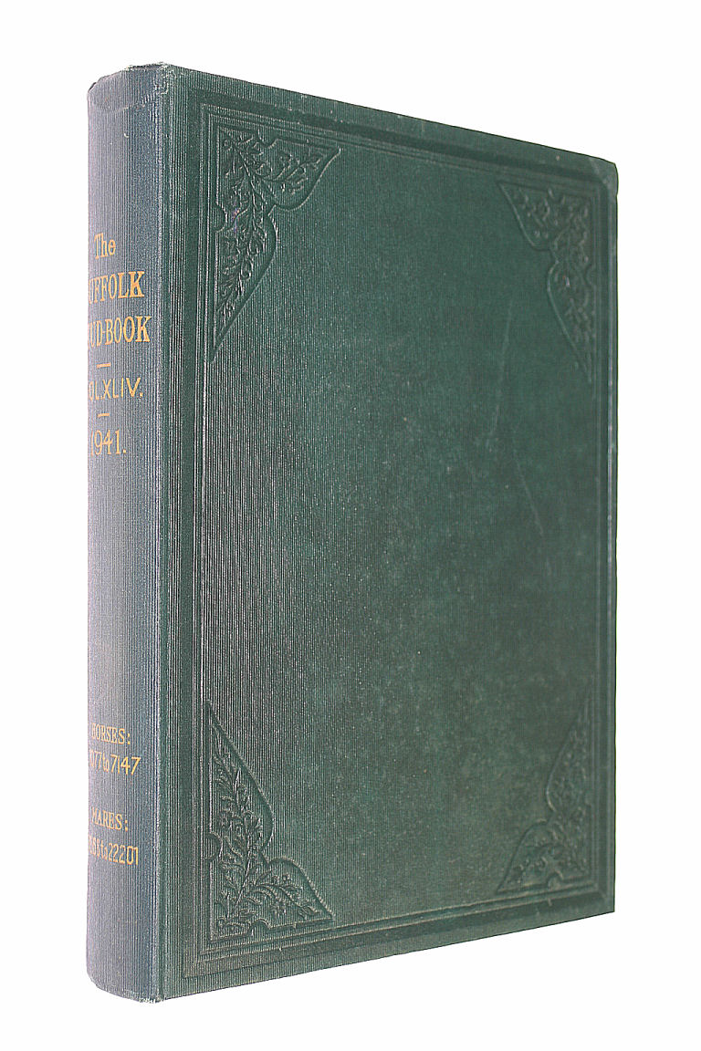 The Suffolk Stud-book: A Register of the County Breed of Cart Horses: Volume XLIV 1941, Keer, Raymond