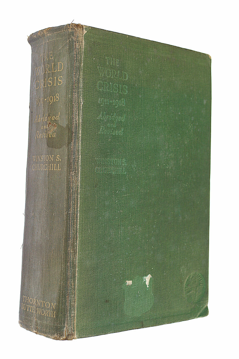 The World Crisis 1911 - 1918 Abridged And Revised With Additional Chapter On The Battle Of The Marne, Churchill, Rt. Hon. Winston.